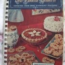 Vintage 1968 Favorite Desserts Home Ec Teachers Cookbook 2,000 Recipes Cakes Cookies