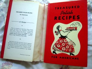 SOLD! Treasured Polish Recipes For Americans 1977 Cookbook HC