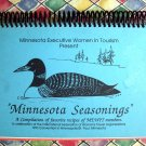 Minnesota Seasonings Cookbook 1993 Convention of MN Executive Women In Tourism