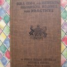 Vintage 1st Edition 1960 Bull Cook and Authentic Historical Recipes and Practices Cookbook