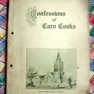 Rare Antique 1909 ~Caro Michigan Cookbook ~ Confessions of Caro Cooks