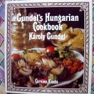 Gundel's Hungarian Cookbook HC Recipes 1998 Edition