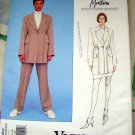 Vogue Pattern # 1482 UNCUT Misses Jacket Skirt Pants Size 8 10 12