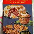 Vintage 1938 Menu Magic in a Nutshell Diamond Walnuts Recipe