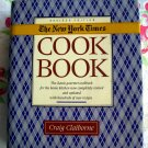 1st Edition The New York Times Cookbook by Craig Claiborne  Vintage 1990