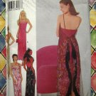 Style Pattern # 1057 UNCUT Misses Gown Spaghetti Straps Size 6 8 10 12 14 16