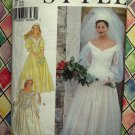 Style Pattern # 2601 UNCUT Misses Wedding Bridal Gown Bridesmaid Dress Size 6 8 10 12 14 16