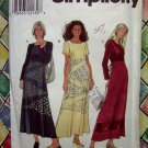Simplicity Pattern # 8377 UNCUT Misses Pullover Dress Size 6 8 10 Hard to find!