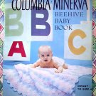 Vintage Columbia Minerva Beehive Baby Toddler ~ Knitted Crochet Sets Blankets