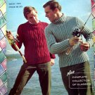 Vintage Knit Patterns for Men's Sweaters ~ Columbia Minerva 30 Designs