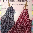 Vintage Afghan Patterns 1960's Columbia Minerva ~ 14 Afghans Vol 722