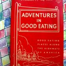 Vintage 1956 Duncan Hines Restaurant & Eating Guide in America ~ USA
