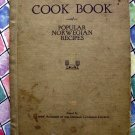 Rare 1924 Norwegian Cookbook Vintage ~ Decorah Lutheran Church