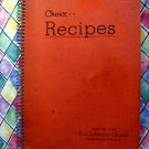 Vintage 1940's Grand Rapids Minnesota MN Church Cookbook Swedish Scandinavian Recipes too!