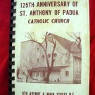 Vintage 1974 Minneapolis Minnesota MN Church Cookbook St Anthony Of Padua