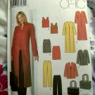 Simplicity Pattern # 5311 UNCUT Misses Top Skirt Pants Coat Jacket Tote Bag Sizes 10 12 14 16 18