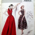 Retro 1952 Butterick Pattern # 4919 UNCUT Dress Evening Gown Size 6 8 10 12