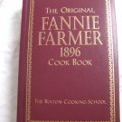 1996 The Original Fannie Farmer 1896 Cookbook Antique Reproduction Boston Cooking School