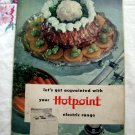 Vintage 1953 Hotpoint Electric Range Let's Get Acquainted with Your  ~ Advertising Booklet