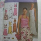 Simplicity Pattern # 4990 UNCUT Misses' / Misses' Petite Evening Top Skirt Purse Size 14 16 18 20 22