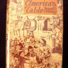 Rare Vintage 1950 America's Table by Joseph Vehling Food Service Chef Hotel Restaurant