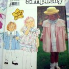 Simplicity Pattern # 7131 UNCUT Girls Coat Dress 'Made In Heaven'  Sizes 2 3 4 5 6 6X