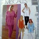 McCall's Pattern # 3241 UNCUT Woman's/Woman's Petite Top & Pants Size 22 24 26 28