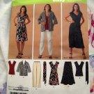 Simplicity Pattern # 3506 UNCUT Women's Dress Jacket Skirt Top Pants Size 20 22 24 26 28