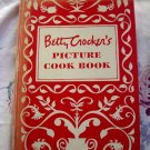 Vintage 1950 Betty Crocker's Picture Cookbook HC 1st Edition 3rd Printing