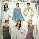 McCalls Pattern #2680 UNCUT Misses Top Size XS Small Medium