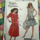 Simplicity Pattern # 8571 UNCUT Misses Loose Fitting Dress Size Sm Med Large XL