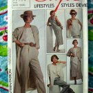 Style Pattern # 4600 UNCUT Misses Jacket Dress Pants Sizes 10 12 14