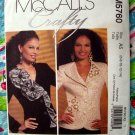 McCalls Pattern # 5760 UNCUT Misses Lined Jacket ~ 2 Styles ~ Size 6 8 10 12 14