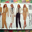 Butterick Pattern # 3158 UNCUT Misses Jacket Top Skirt Pants Size 6 8 10