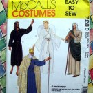 McCall's Sewing Pattern # 7280 Size Adult SMALL~ Holy Night Angel Shepherd King Costume