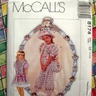 McCall&#39;s Dorothy Dear Girl&#39;s Pattern # 8174 UNCUT Size 4 5 6