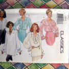 Butterick Pattern # 3210 UNCUT Misses 5 Blouse Designs  Size 6 8 10