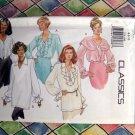Butterick Pattern # 3210 UNCUT Misses 5 Blouse Designs  Size 6 8 10