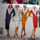 Butterick Pattern # 3309 UNCUT Misses Dress Top Skirt Size 14 16 18