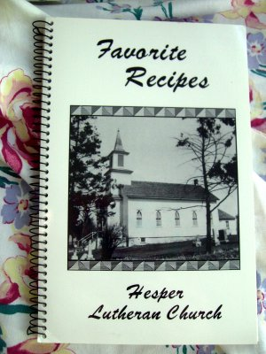 Hesper Iowa Church Cookbook Ads From IA & Minnesota Stores