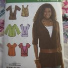Simplicity Pattern # 5330 UNCUT Misses Tops Blouse Size 14 16 18 20 22
