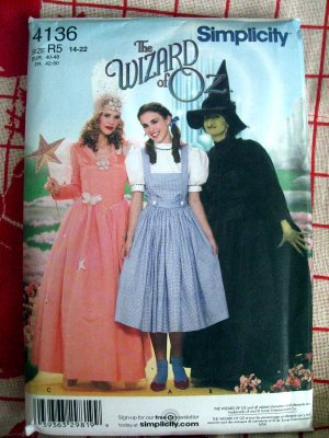 Dorothy dress pattern  Costumes | Bizrate