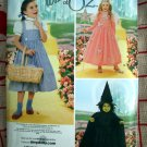 Simplicity Girl's Costume Pattern # 4139 UNCUT Wizard of Oz Dorothy Witch Glenda Size 3 4 5 6 7 8