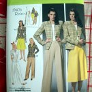 Simplicity Pattern # 4044 UNCUT Misses Skirt Pants Lined Jacket Retro 1940's Size 10 12 14 16 18