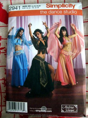 Sewing Bits: Belly Dance Costume - Skirt
