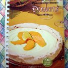 Favorite Recipes of Episcopal Churchwomen Desserts ~ Vintage 1968 Cookbook 2000 Recipes!