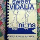 Sweet Vidalia Onions (Onion) 1989 Blue Ribbon Recipes / Cookbook Signed by Author!!