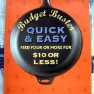 Budget Buster Quick & Easy Recipes Family Dinner Cookbook HCDJ