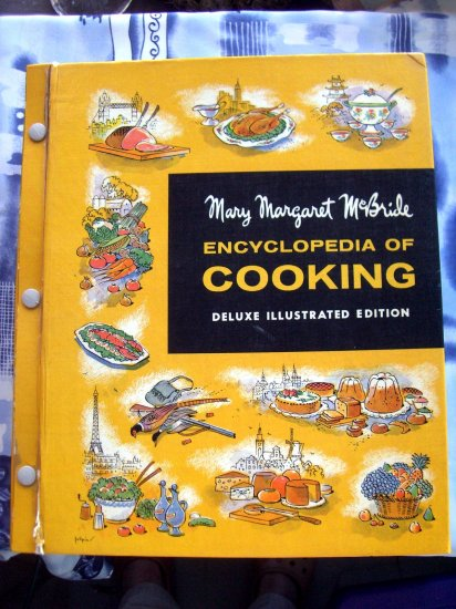 Vintage 1960 Mary Margaret McBride Encyclopedia of Cooking Cookbook HUGE Recipe Collection!