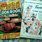 Vintage Hawaiian Recipe Books Cookbooks Favorite Island Recipes 1956